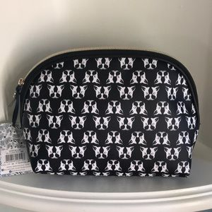 NWT French Bulldogs Dabney Lee Cosmetic Bag